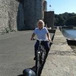 Lon Las Menai - Cycling through Caernarfon