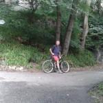 Cycling at the Dingle, Llangefni