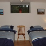 Twin beds layout