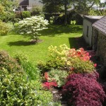 Stick Cottage garden