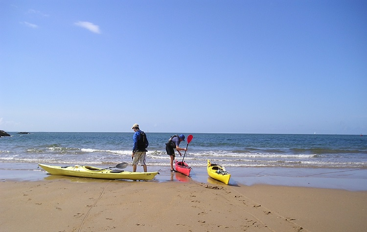 Sea-kayaking around Anglesey