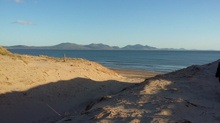 Newborough beach and dunes