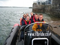 RIB Menai Adventures boat rides, Menai Bridge, Anglesey